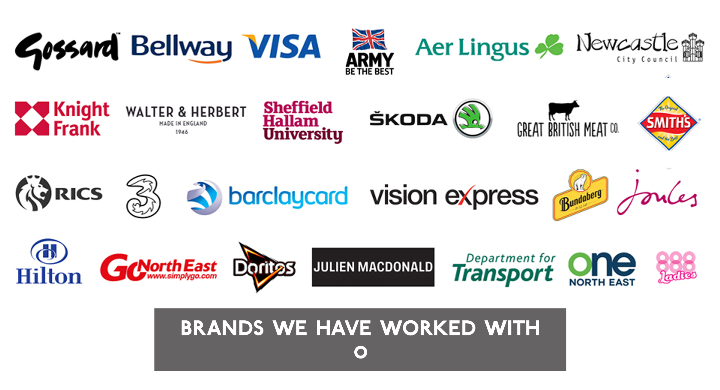 The Tonic Comms - Brands we have worked with