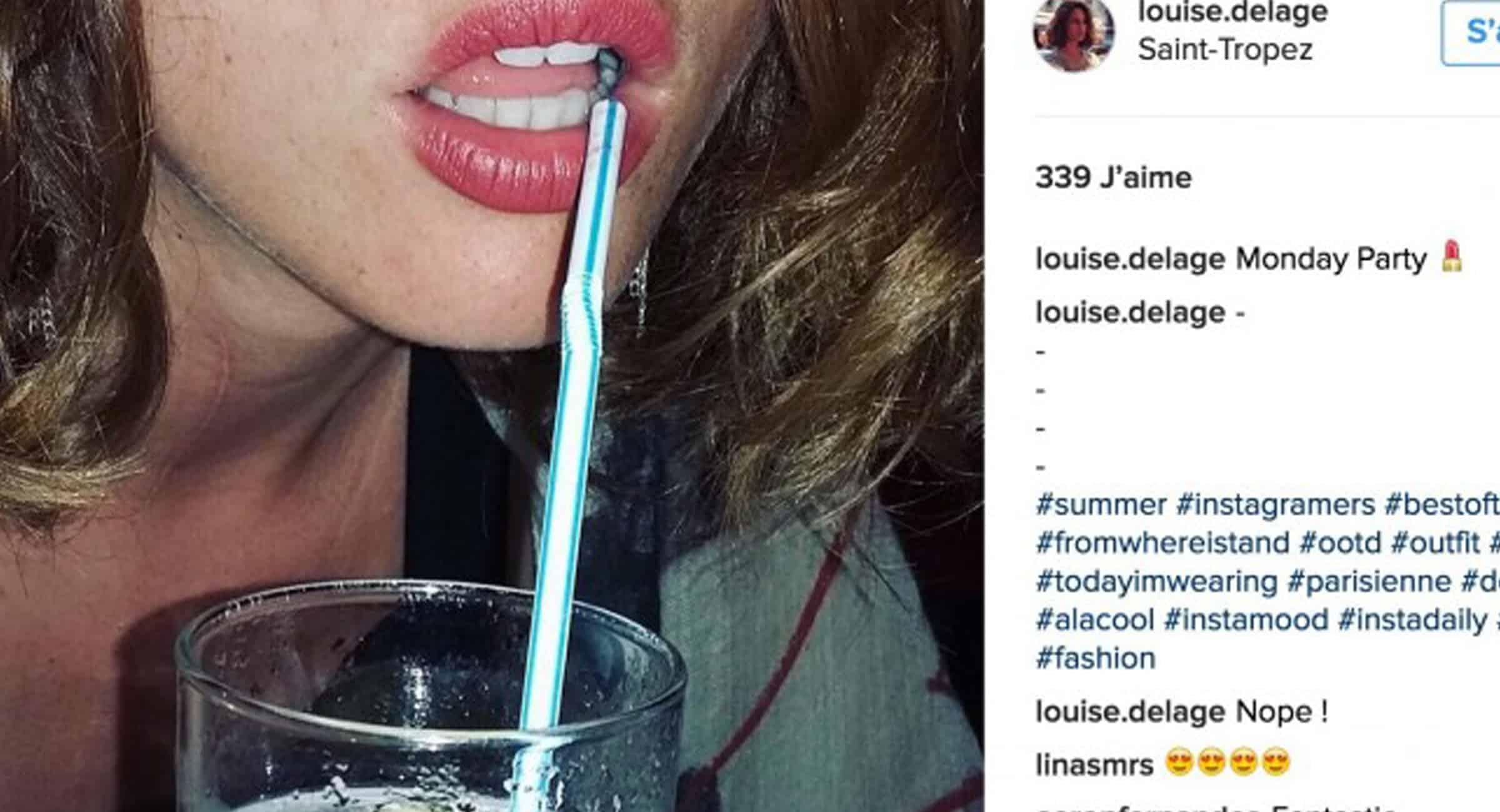 Louise Delage Instagram campaign