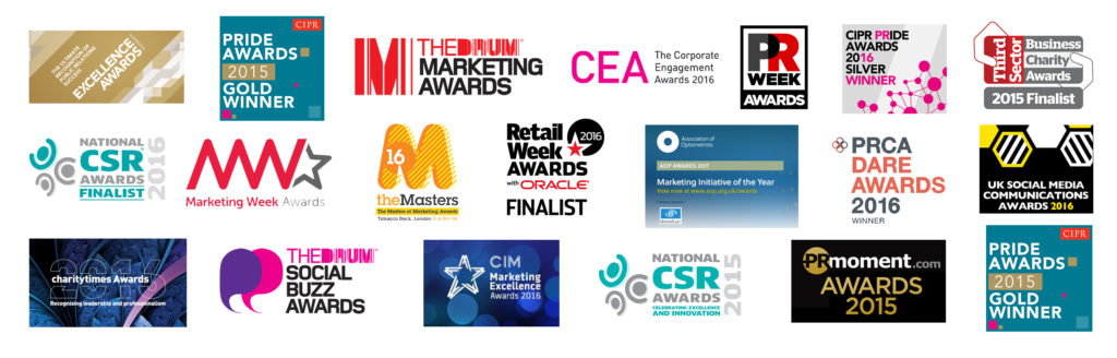 Award-winning work has included CIPR, PRCA, The Drum, PR Moment and Marketing Week accolades