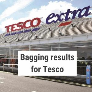 Tonic delivered PR for retail events at 123 Tesco stores