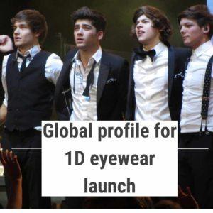 One Direction launch a designer brand eyewear range