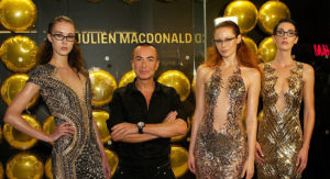 Show-stopping campaign for Julien Macdonald