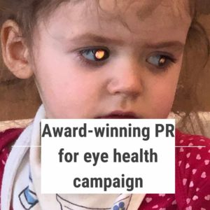 Boo had a brain tumour detected and was the case study for regular eye tests