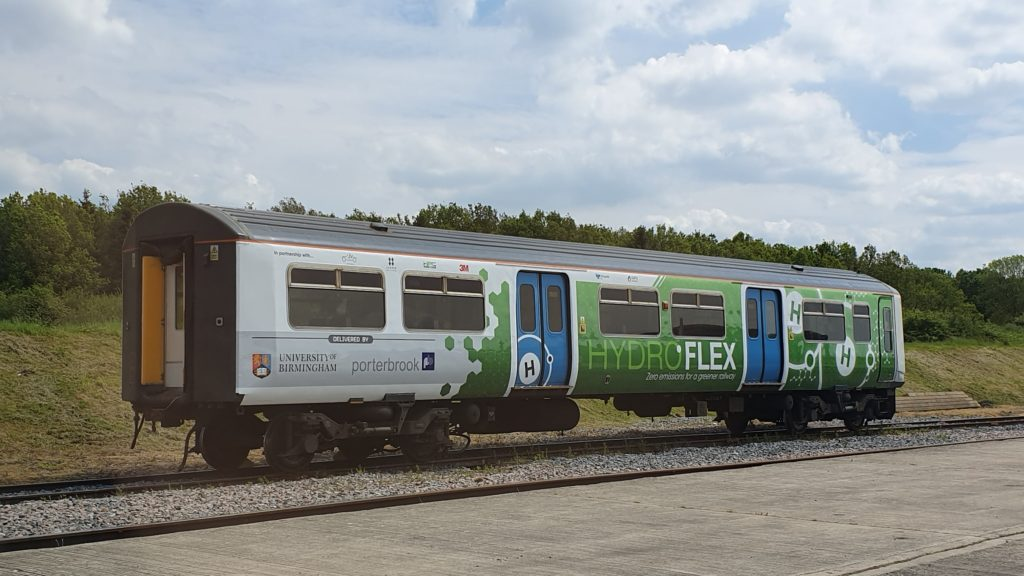 HydroFLEX train is one project Tonic is communicating green transport for